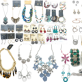 Liquidation/Wholesale Lot:  100 pieces  All The Best Hand picked Jewelry lot