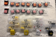 Liquidation/Wholesale Lot: 33 Disney, DC, More High-Quality Silicone Character Airpod Cases
