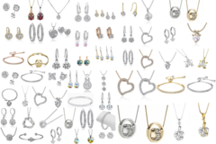 Liquidación / Lote Mayorista: $2,000 Swarovski Elements Jewelry Mystery lot