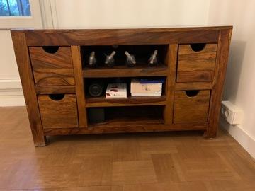 Vente: Meuble TV en bois massif