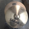 """Selling with online payment: Sabian BB 14"""" matching pair hi hat cymbals"""