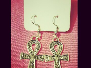 For Sale: Ankh Earrings