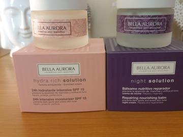 Venta: Pack crema de día y de noche piel seca, Bella Aurora.