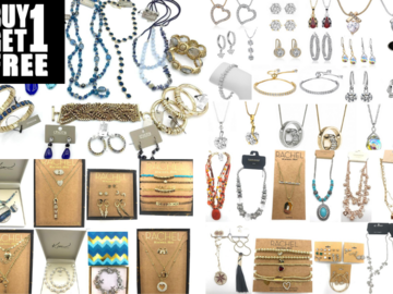 Liquidation / Lot de gros: Buy One Get One Free!-$6,000.00 Top Selling Jewelry