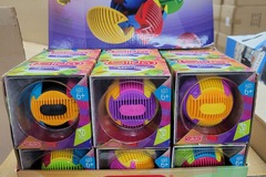 Liquidation/Wholesale Lot: SLIDA 3D Puzzle Ball Lot of 12 with Display Case