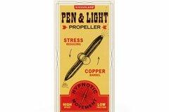 Liquidation/Wholesale Lot: Kikkerland Propeller Pen & LED Light Lot of 24