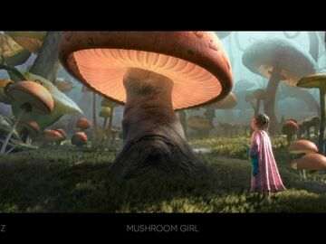For Sale: Lighting Challenge #9 - Mushroom Girl