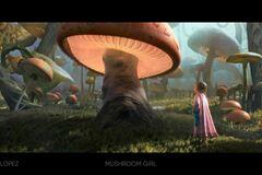 For Sale: Lighting Challenge #9 - Mushroom Girl