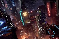 For Sale: Lighting Challenge #10 - SciFi City