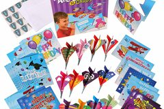 Liquidation/Wholesale Lot: Paper Airplanes All Occasion Greeting Cards Lot of 20