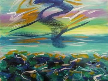Sell Artworks: Florida evening sundance