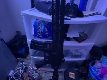 Selling: Air soft rifle