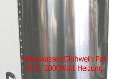 Vermieten: Heisswasser Pot