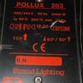 Vermieten: 5 kW Fresnel mit Torblende und Farbfilterrahmen