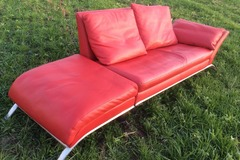 Vermieten: Sofa Rot