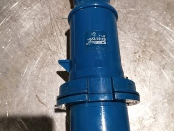Verkaufen: CEE 63 Stecker 1 Phase (Blau)
