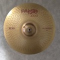 """Selling with online payment: Paiste 3000 RUDE 17"""" CRASH/RIDE Cymbal"""