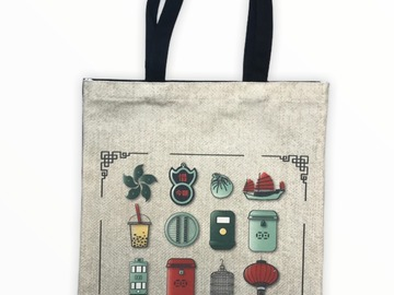 : Quintessential Hong Kong Tote Bag