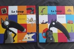Vente avec paiement en ligne: Lot de 2 albums Le Loup