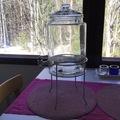 Ilmoitus: Finnmari hanallinen juoma-astia ja teline