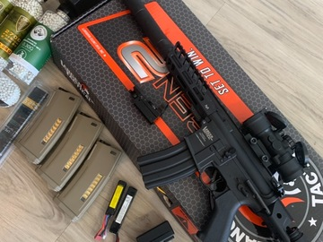 Selling: FULL AIRSOFT KIT (like new)
