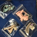 Liquidation/Wholesale Lot: Key Chain Hand Bag Accessory lot of 8