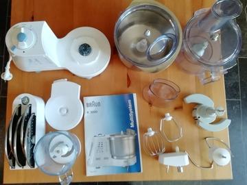 À donner: Robot de cuisine multifonctions Braun K3000