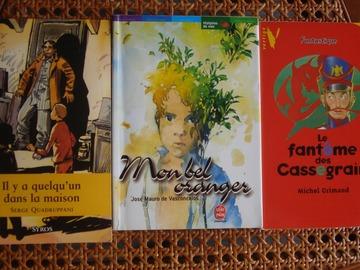 Vente: 3 livres pour enfants de 10 à 12 ans