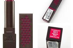 Liquidation/Wholesale Lot: 10 Burt's Bees Satin Lipstick 511 Magenta Rush