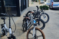 Weekly Rate: 4 X E-bikes Delivered (Brisbane Region Only)