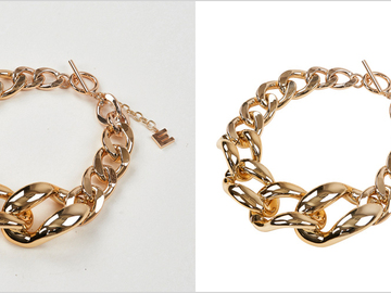 Offering with online payment: Jewellery Photo Editing Services