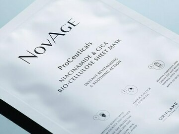 Selling with online payment: Novage Sheet Mask