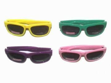 清算批发地: Unisex Shatterproof Party Sunglasses – Asst Colors – Item #SG226