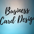 Offering online services: Let me design your business cards!