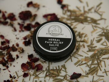 Selling with online payment: Herbal Pain Relief Salve