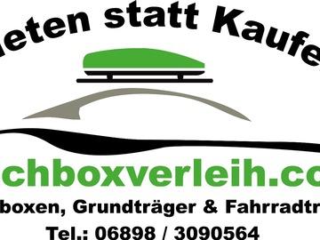 Vermieten/Wochenende/Woche/Monat: Dachbox 420ltr mit Grundträger