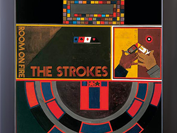 Vente: Disque vinyle encadré Room On Fire de The Strokes (Neuf)