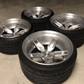 "Selling: Custom 20"" Forged 3-piece 5x114.3"