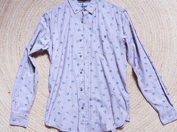 Selling without online payment: Flower shirt