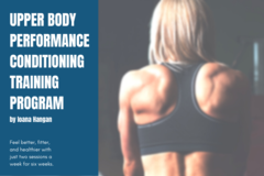 Selling with online payment: Upper Body Performance Conditioning Training Program