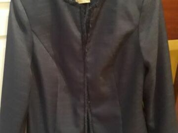 Vente: Vends veste printanière bleu marine 46/48