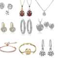 Liquidation/Wholesale Lot: 100 Pieces Asst Swarovski Elements Jewelry - Sale 3 days only!!