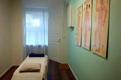 Renting out: Hoitotila hierontapöydällä Kampissa
