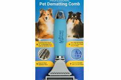 Liquidación / Lote Mayorista: Anytime Pets Professional Dematting Rake Comb Lot of 24