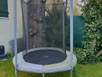 Vente: Trampoline diamètre 180 cm