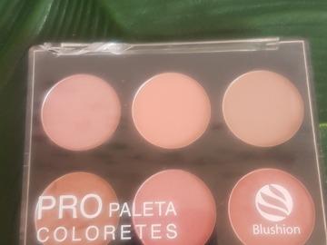 Venta: Pro paleta colorete Deliplus