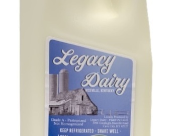 Selling Without Online Payment: Non-Homogenized Whole Milk - Half Gallon