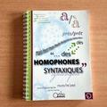 Vente avec paiement en ligne: Homophones syntaxiques - Livre + CD