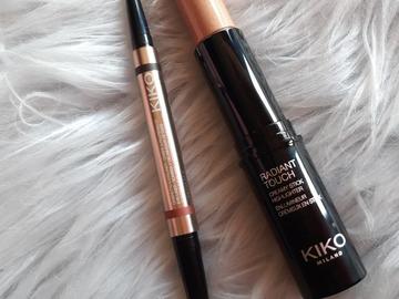 Venta: Pack iluminador y sombra crema kiko