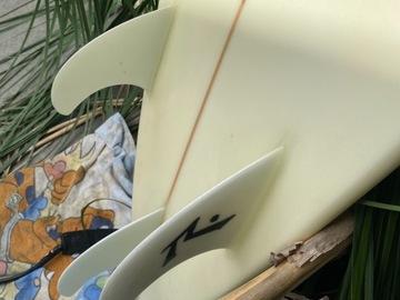 For Sale: Custom Shaped rusty surfboard